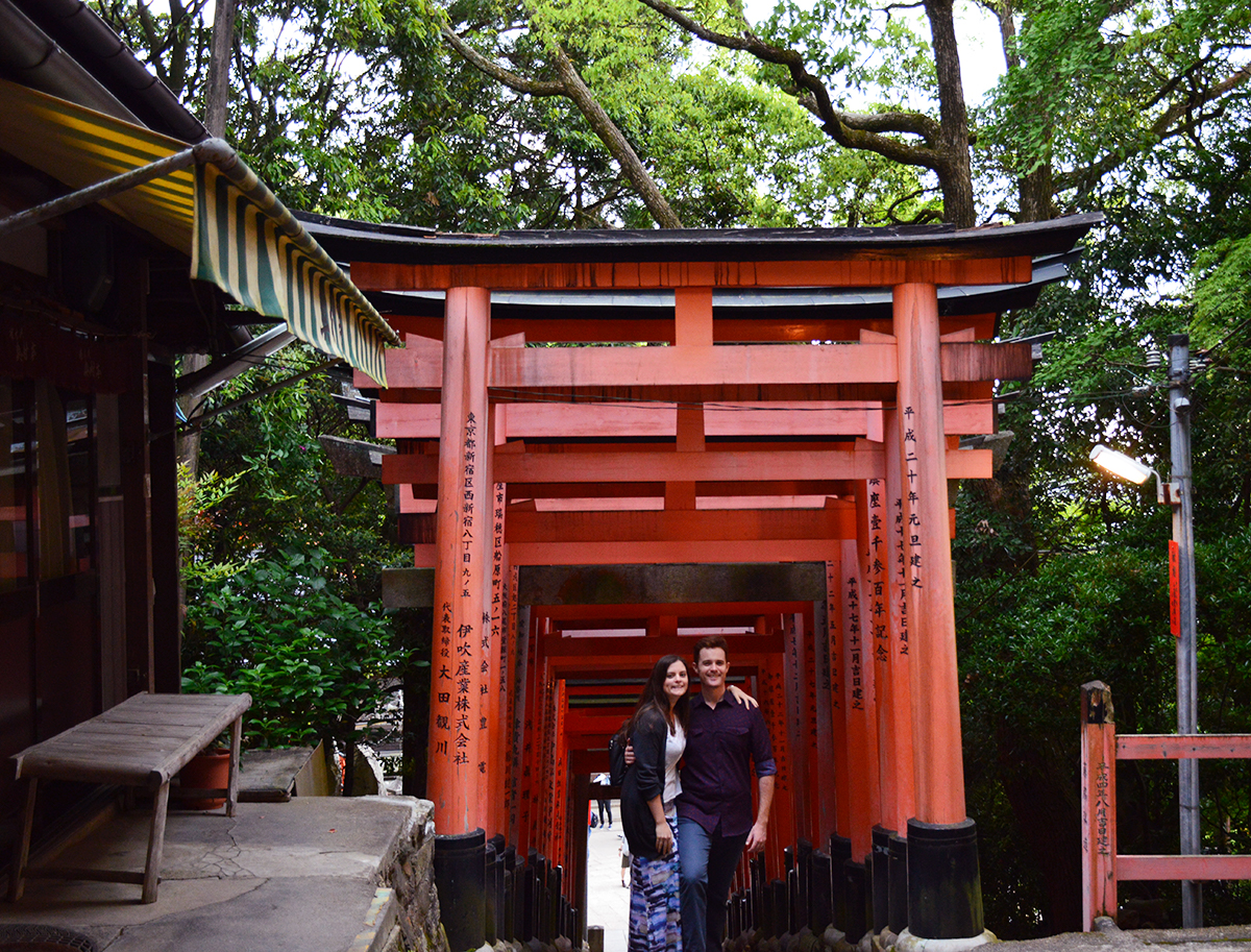 Fushimi Inari Taisha couple Double-Barrelled travel
