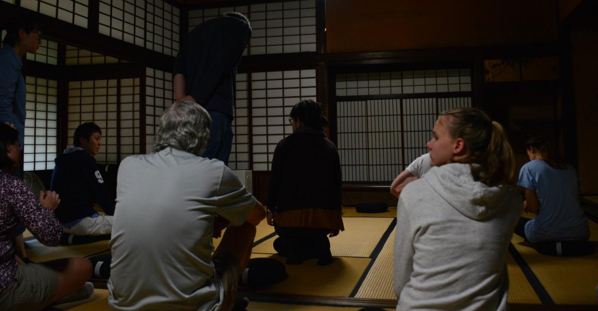 Meditation in Japan