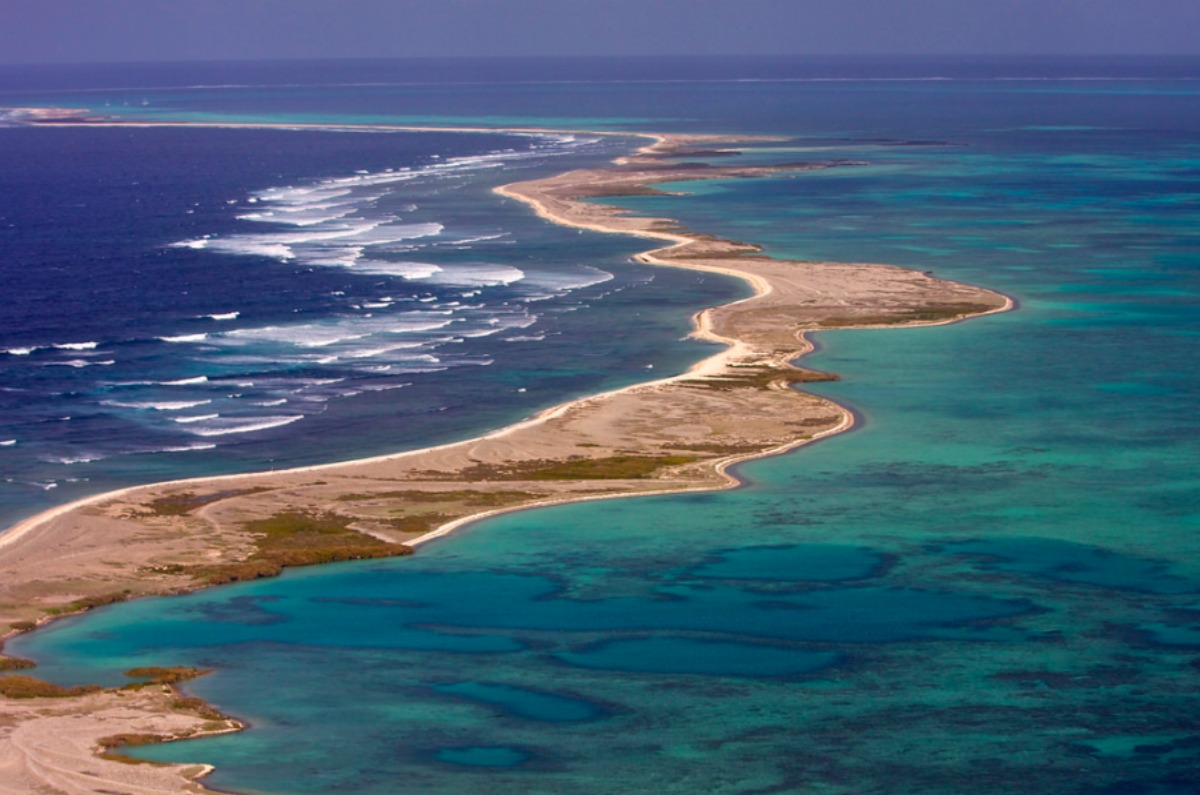 Pelseart Island in the Abrolhos Island chain