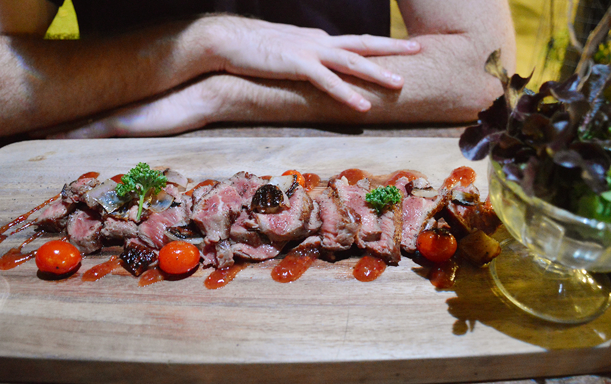 Cafes in Chiang Mai Canito steak Double-Barrelled Travel