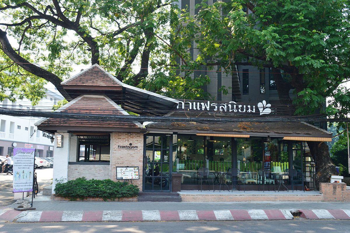 Cafes in Chiang Mai Roastniyom exterior Double-Barrelled Travel
