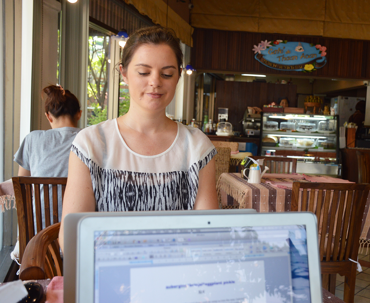 Cafes in Chiang Mai digital nomad Double-Barrelled Travel