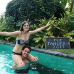 Carmen and Dave Double-Barrelled Travel baby announcement1