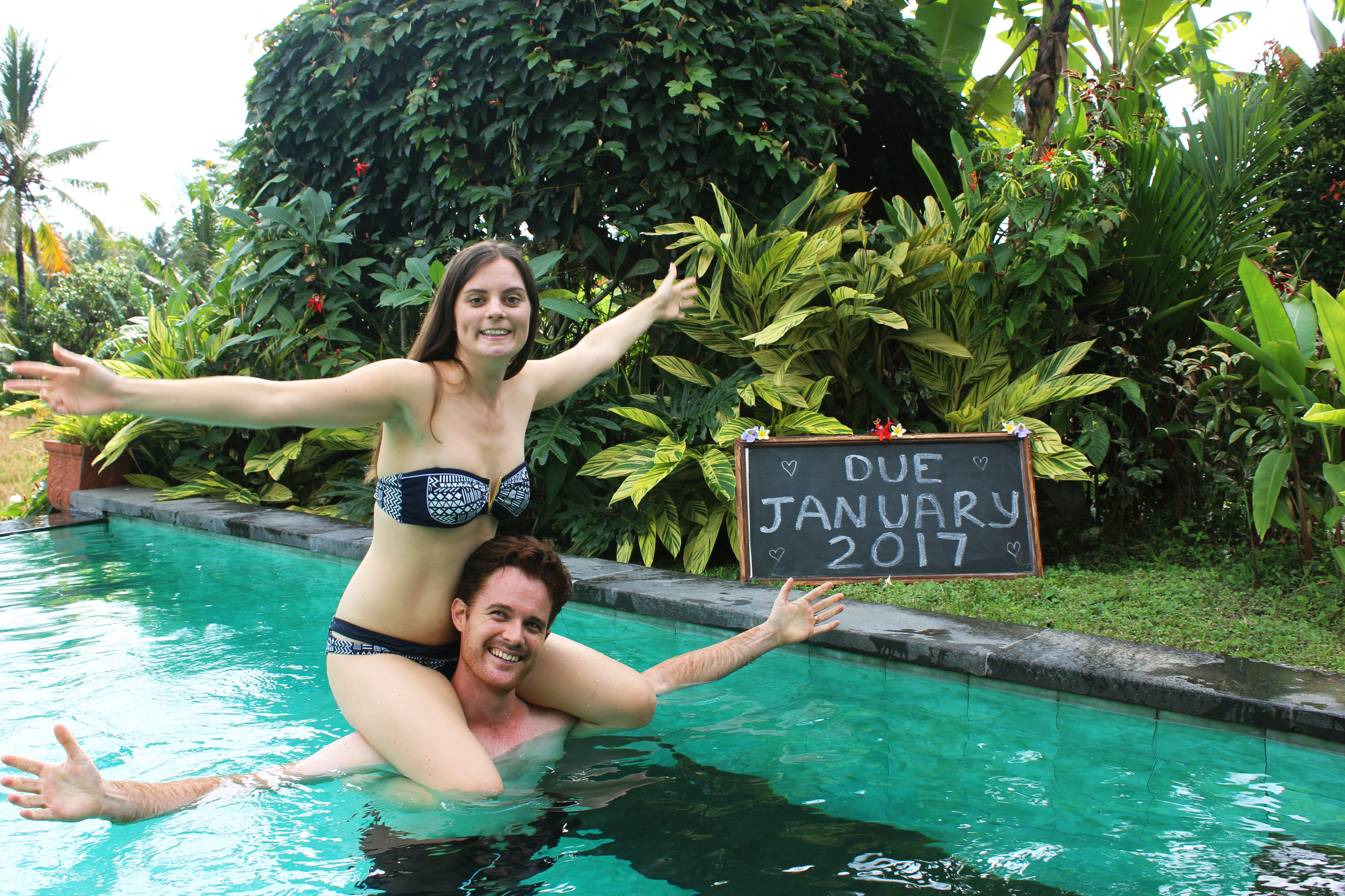 Carmen and Dave Double-Barrelled Travel baby announcement4
