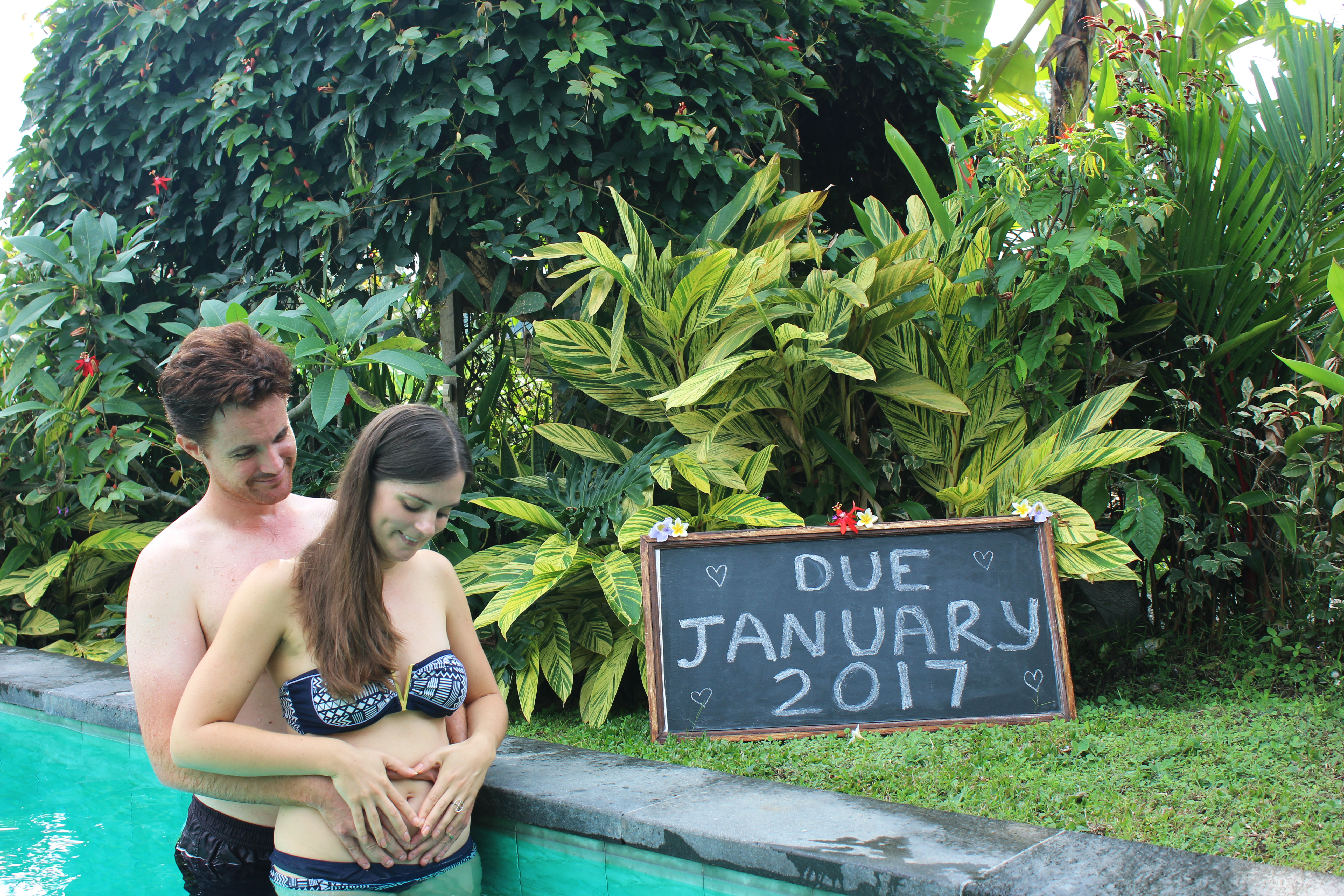 Carmen and Dave Double-Barrelled Travel baby announcement5