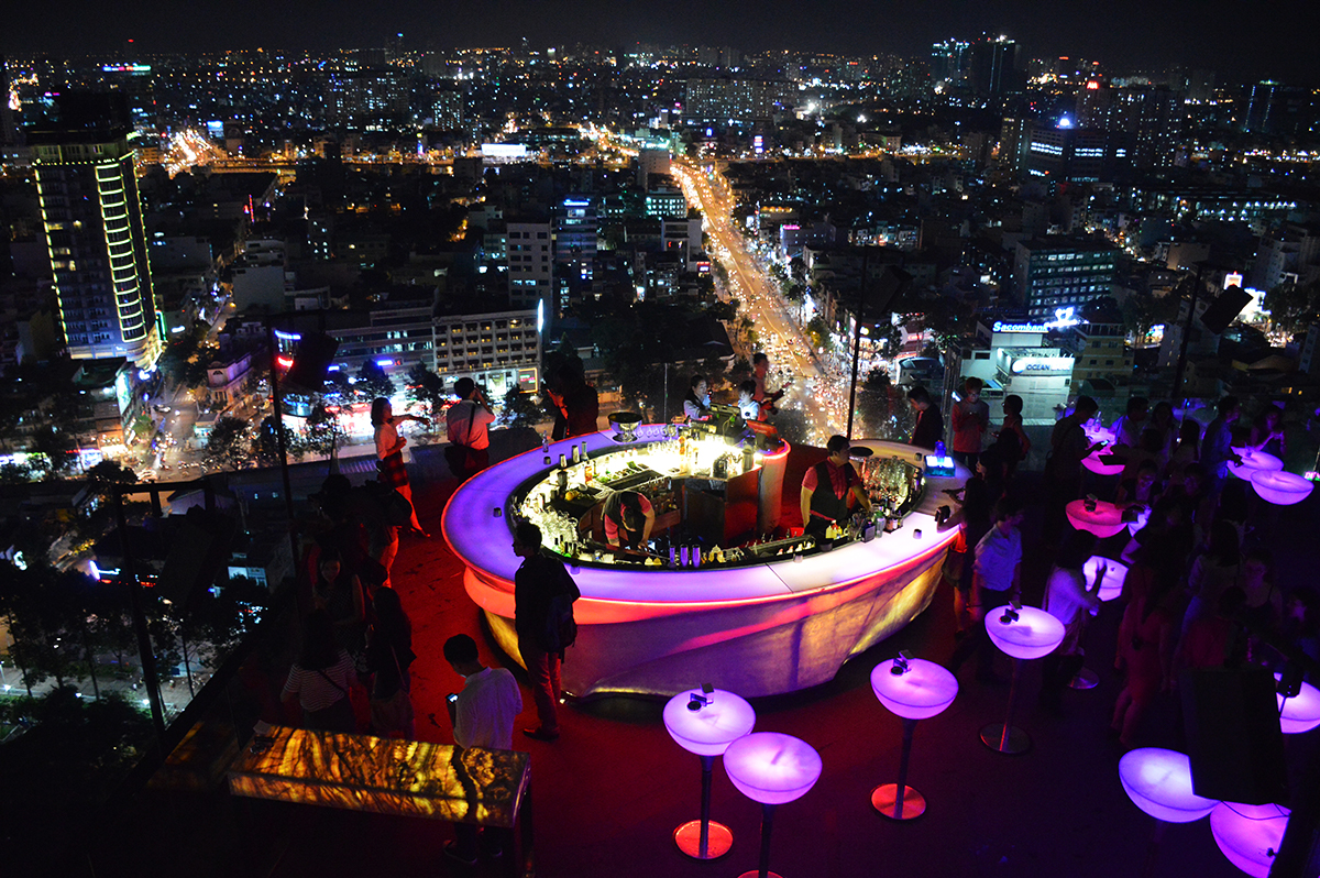 Chill sky bar Things to do in Ho Chi Minh City Double-Barrelled Travel