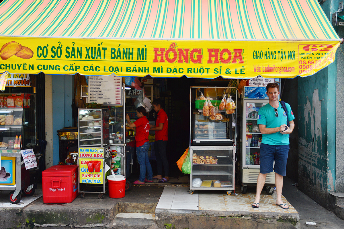 Hong Hoa Banh mi Things to do in Ho Chi Minh Double-Barrelled Travel