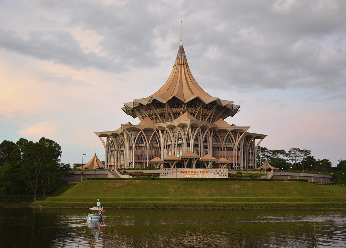 Things to do in BorneoSarawak State Legislative Assembly Kuching Double-Barrelled Travel