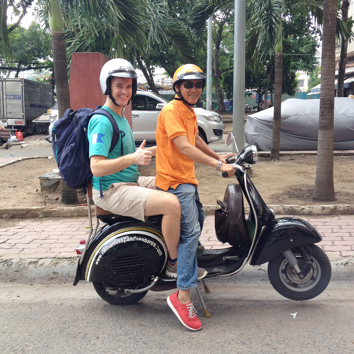 Vespa tours Things to do in Ho Chi Minh Double-Barrelled Travel