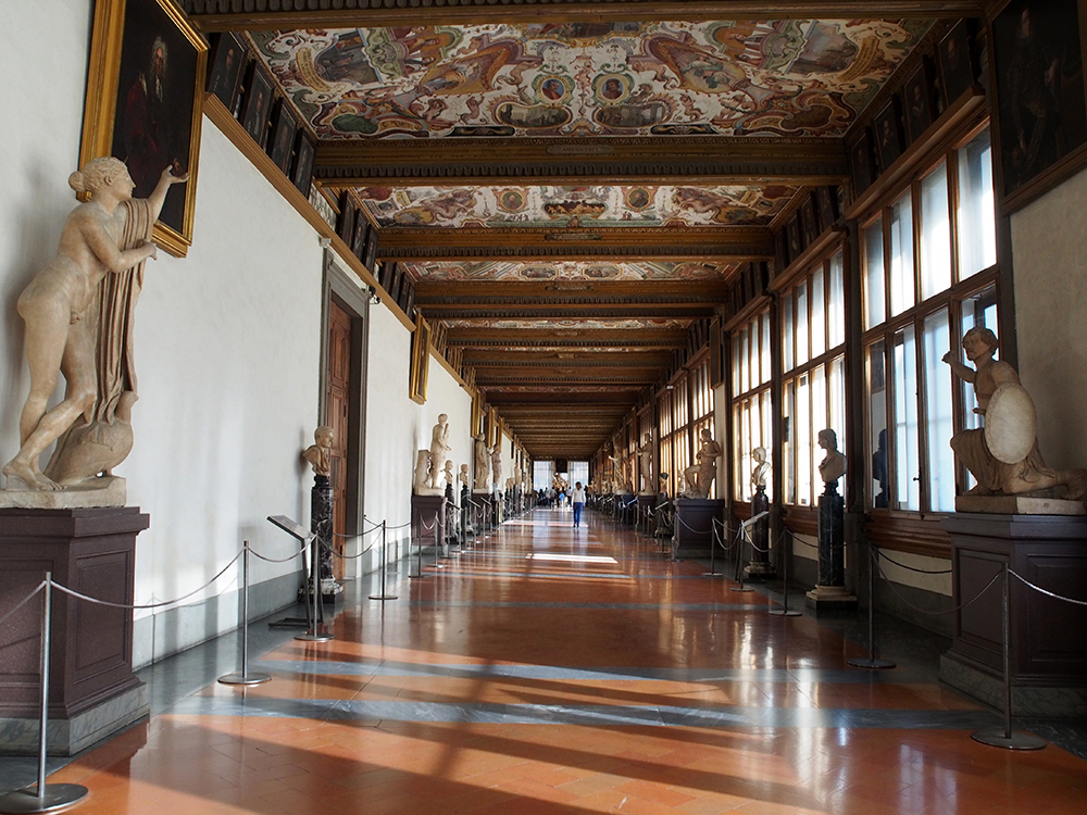 Uffizi Gallery Florence City Break Double-Barrelled Travel