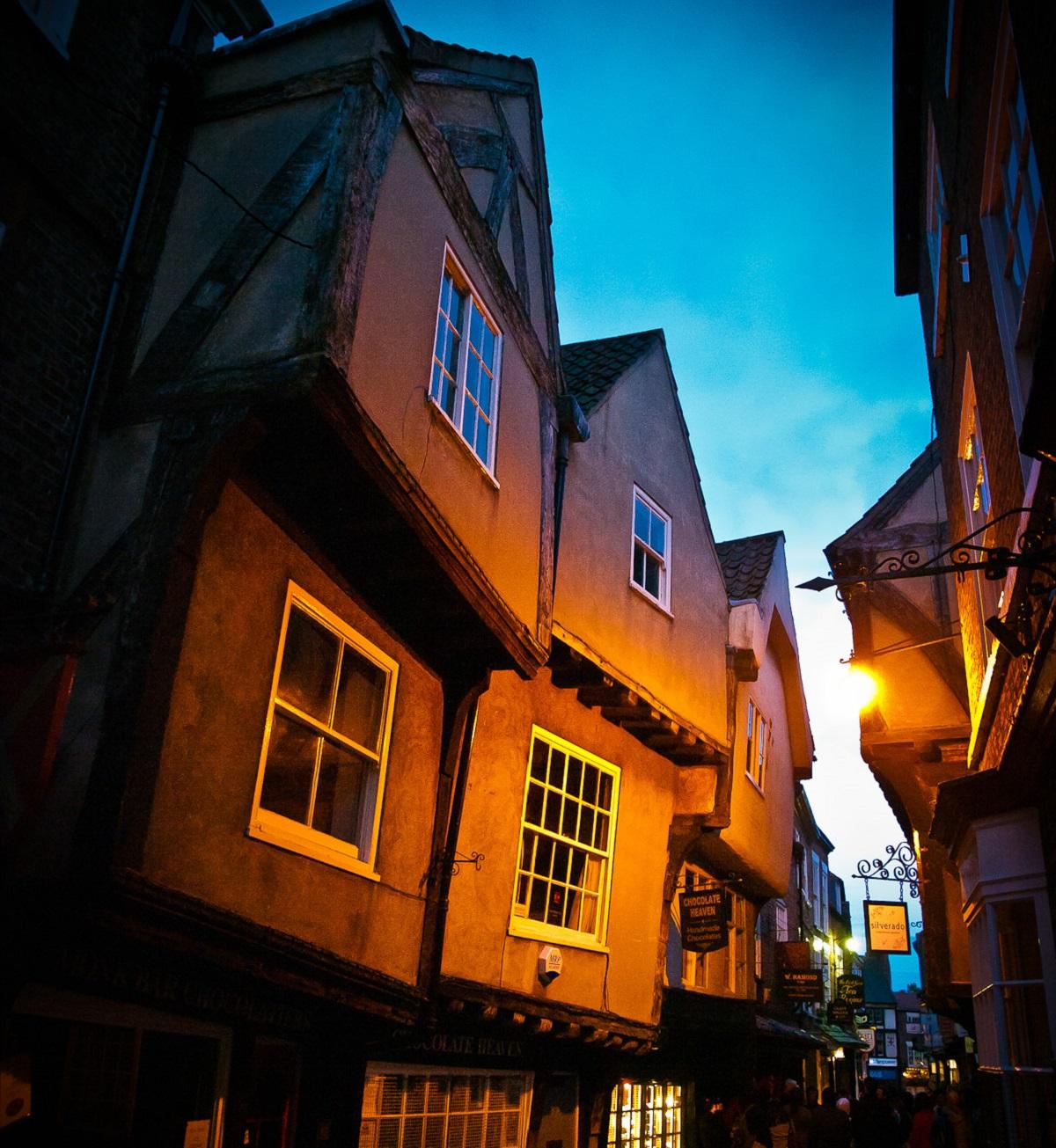 The Shambles, York Double-Barrelled Travel