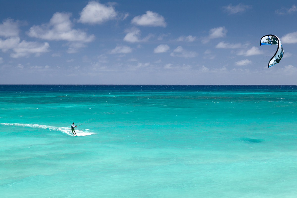 Kitesurfing St Barts things to do Double-Barrelled Travel