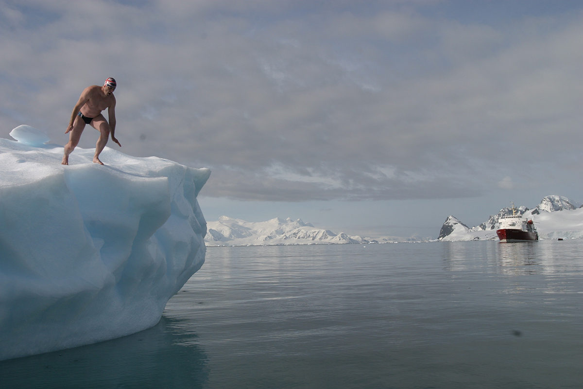 Polar plunge things to do in Antarctica Double-Barrelled Travel