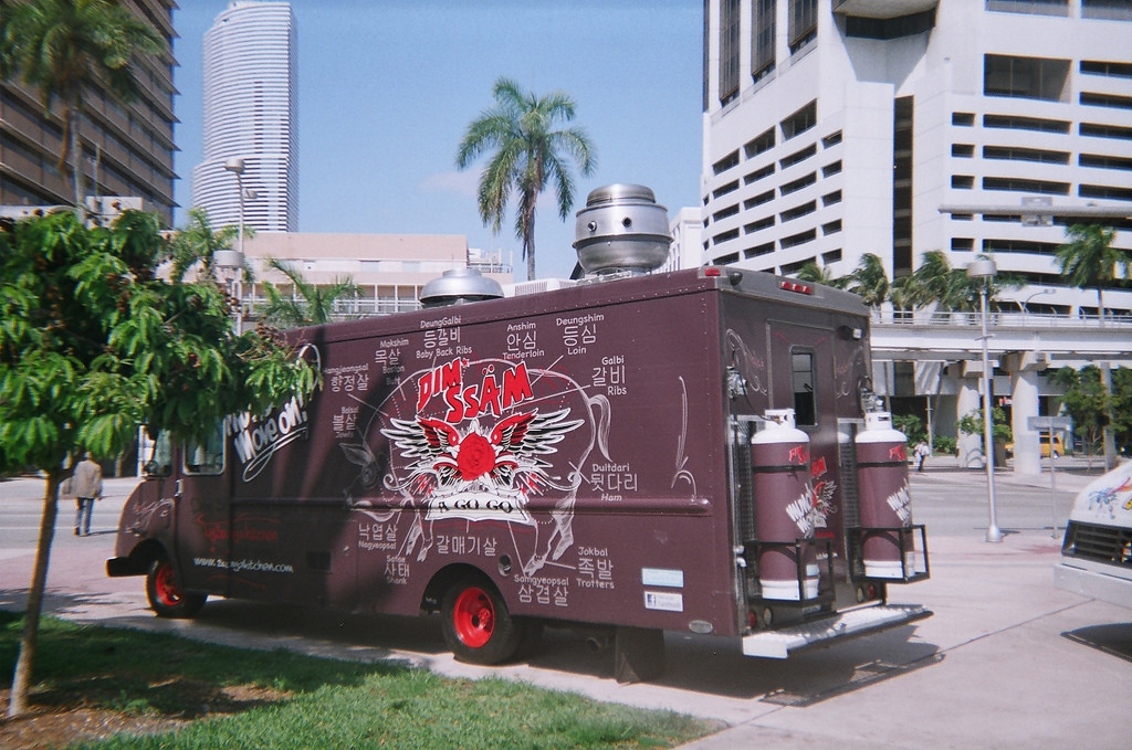 Dim Ssam A Gogo food truck Miami Double-Barrelled Travel