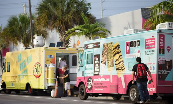 Hip Pops food truck Miami Double-Barrelled Travel