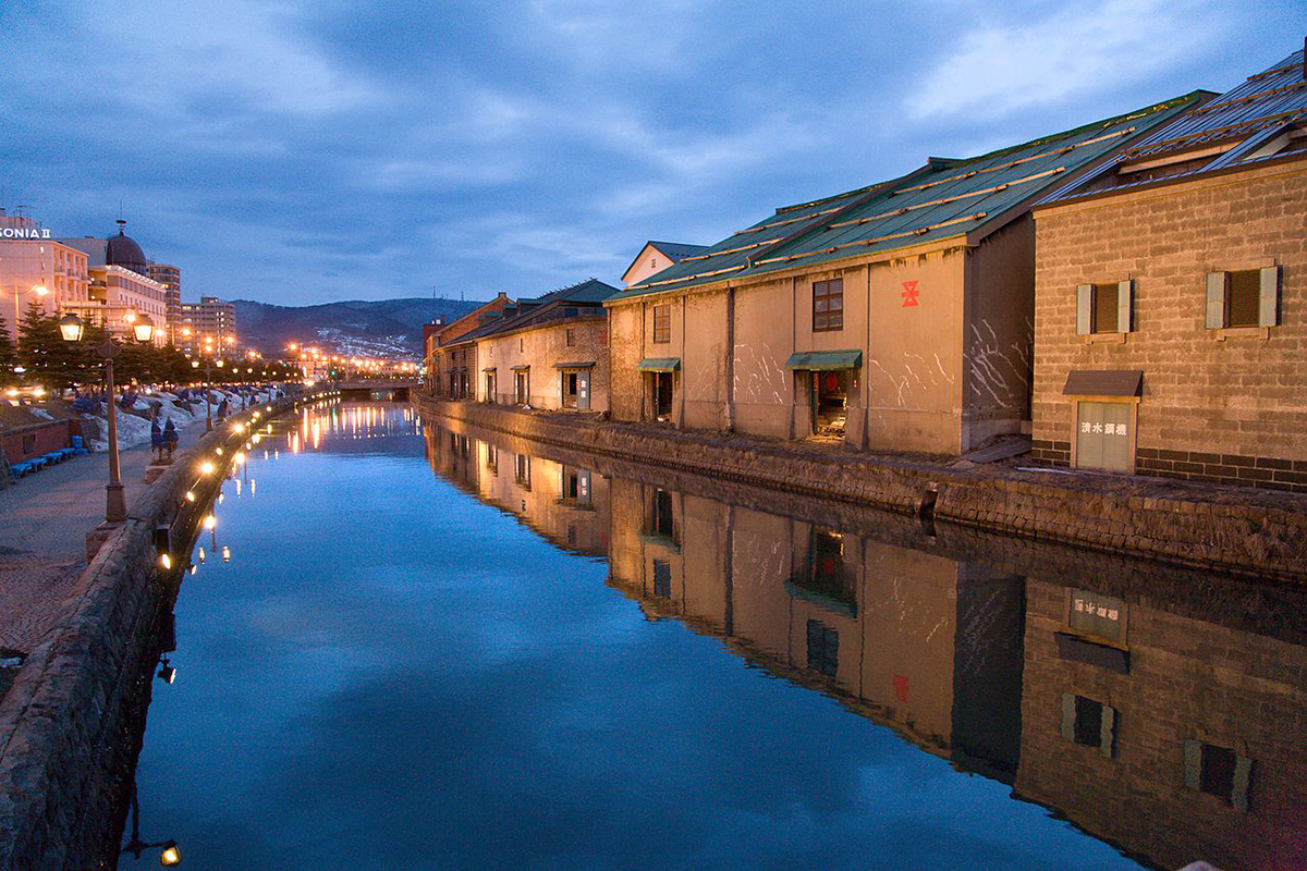 Otaru canal things to do in Hokkaido Japan Double-Barrelled Travel