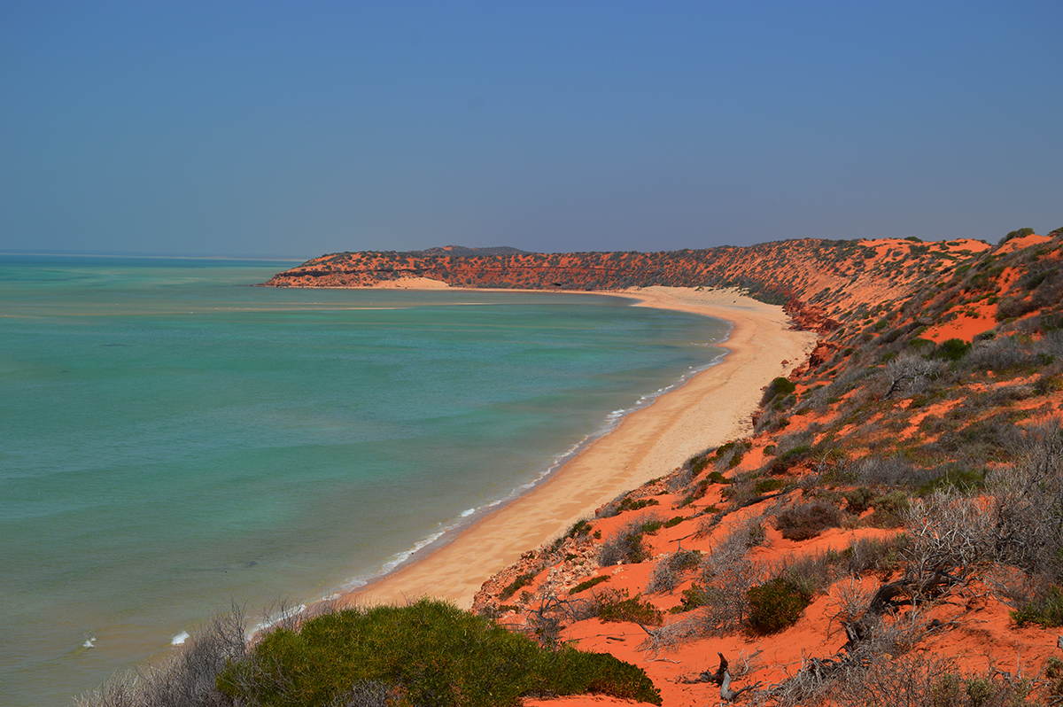 Francois peron National Park cliffs Double-barrelled travel
