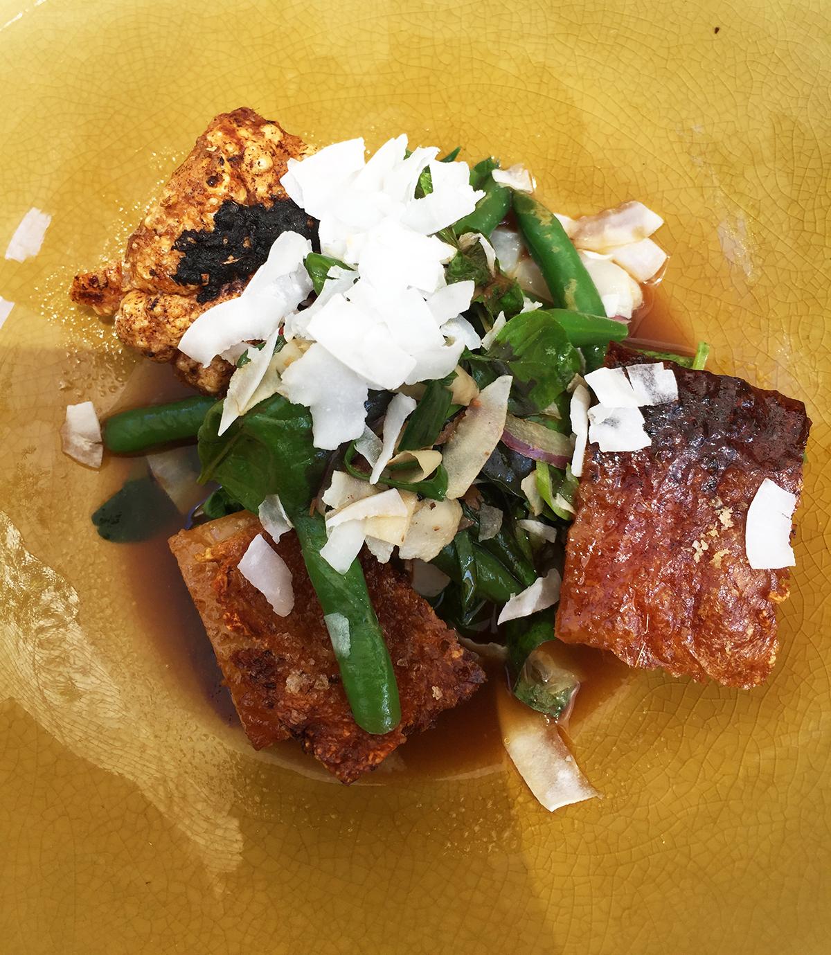 Pork belly Salt Dish Geraldton Double-barrelled travel