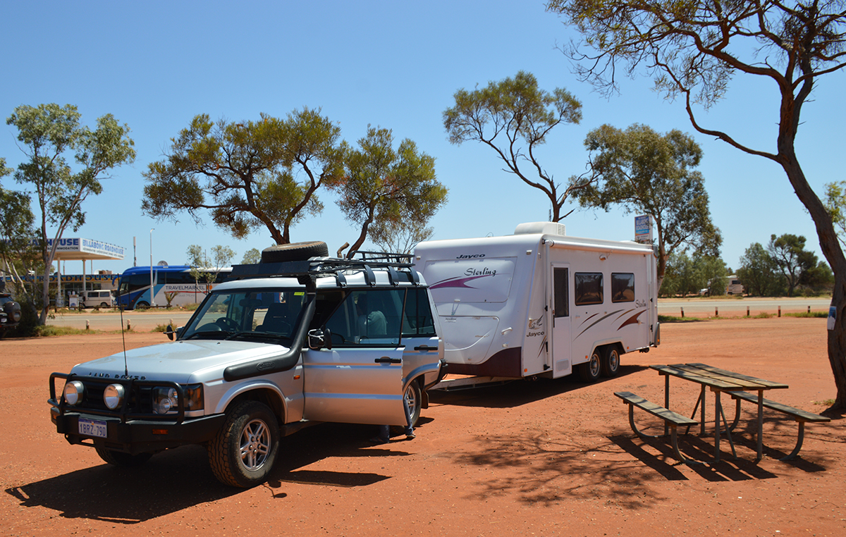 Roadhouse Coral Bay Caravan Parks vs campsites Double-Barrelled Travel