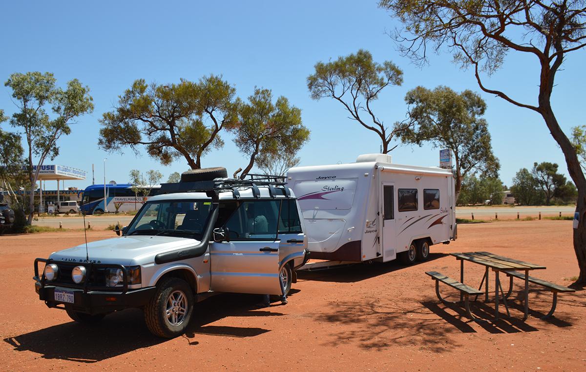 Roadhouse Coral Bay Caravan Parks vs campsites Double-Barrelled Travel