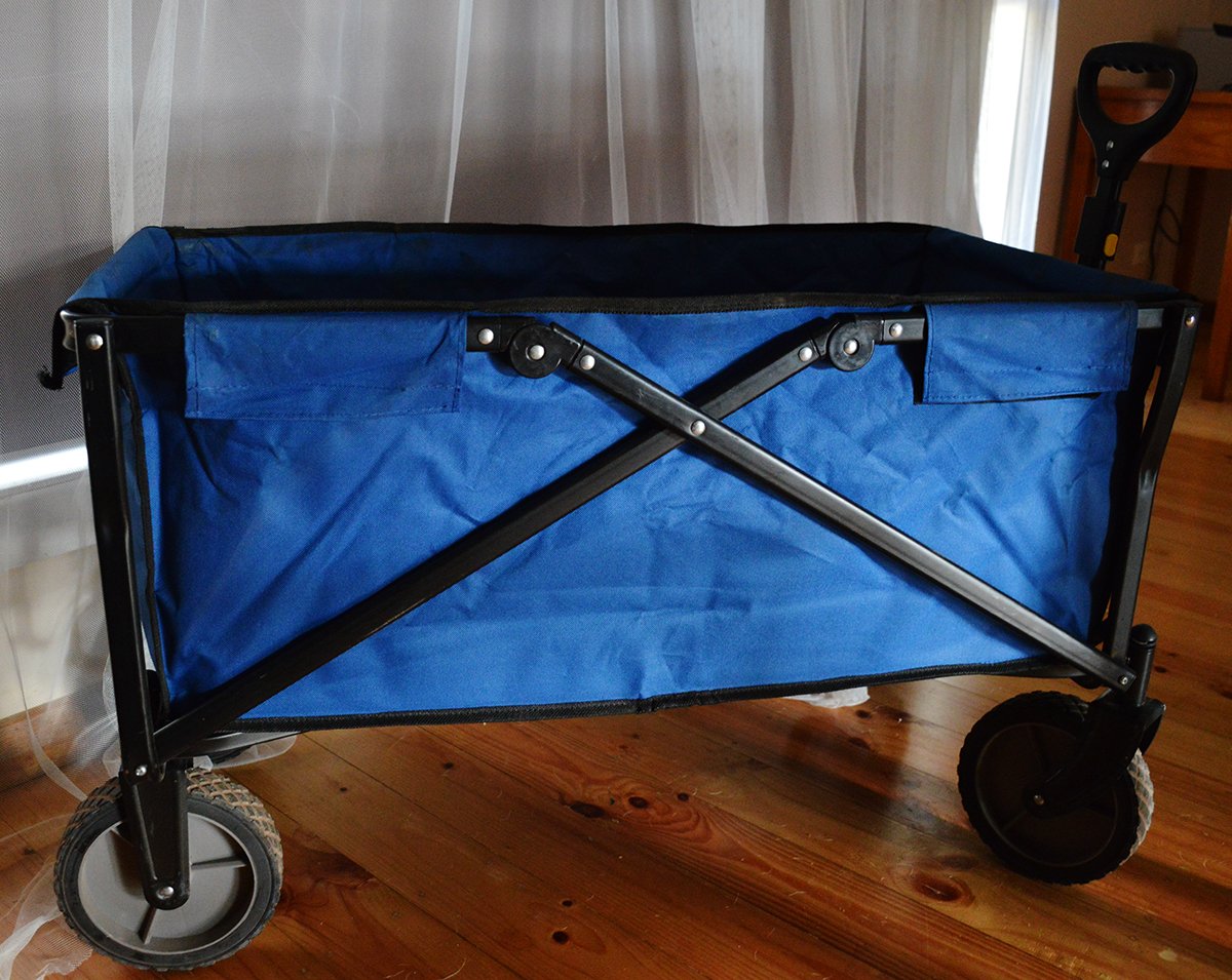 Beach cart caravan products Double-Barrelled Travel