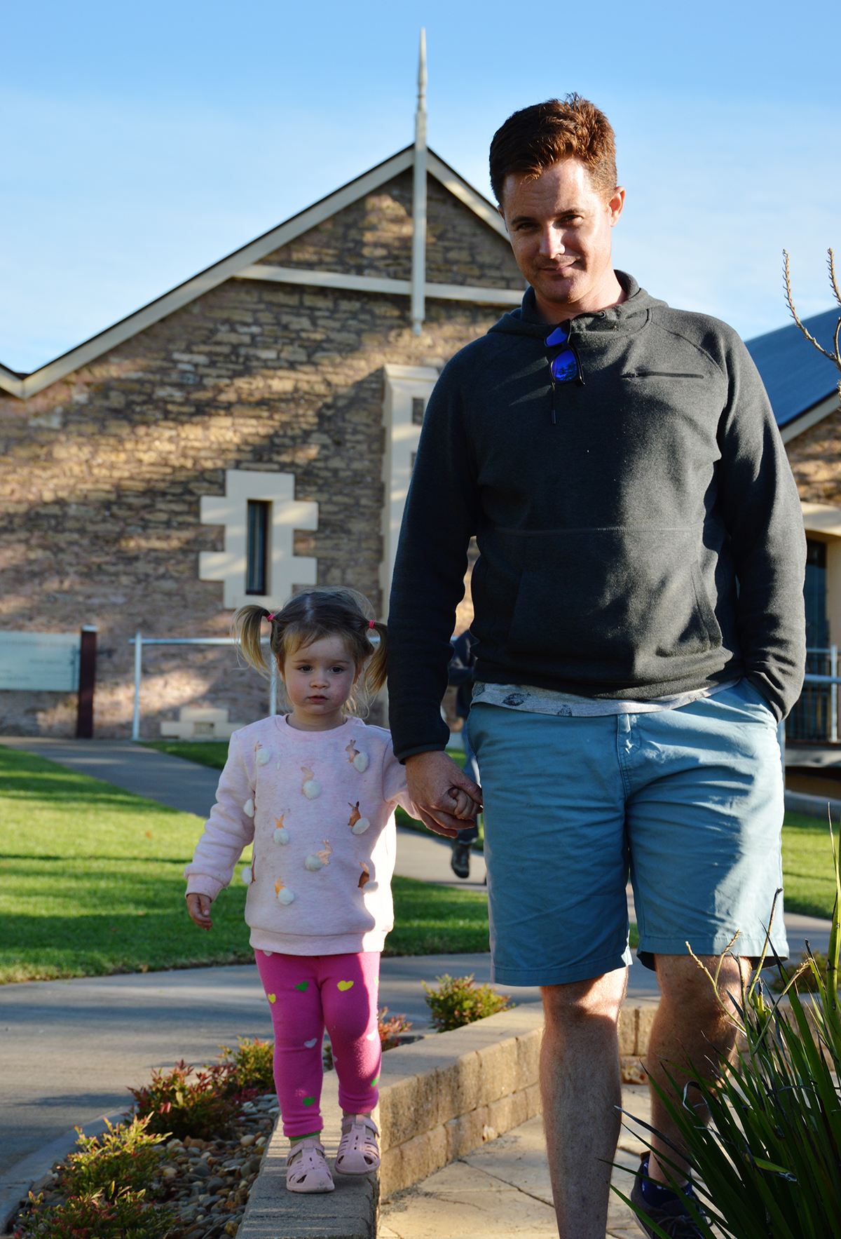 Wynns Winery Double-Barrelled Travel saying goodbye
