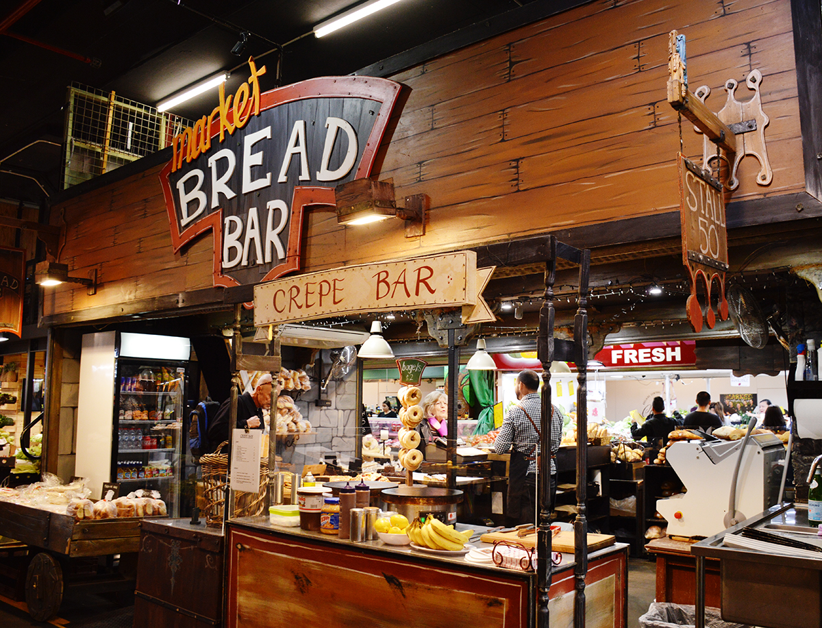 Adelaide Central Market bread bar Double-Barrelled Travel