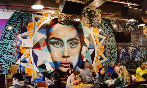 Adelaide Central Market mural Double-Barrelled Travel