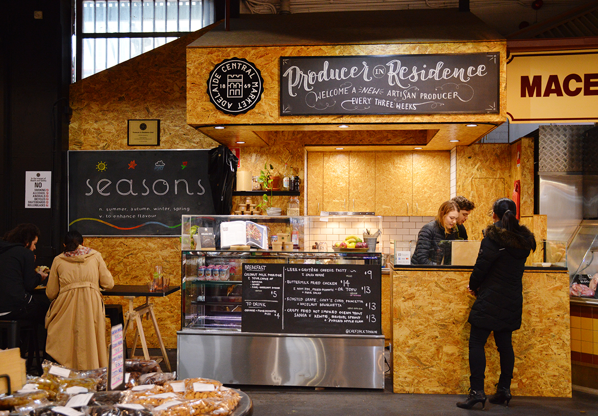 Adelaide Central Market producer in residence Double-Barrelled Travel