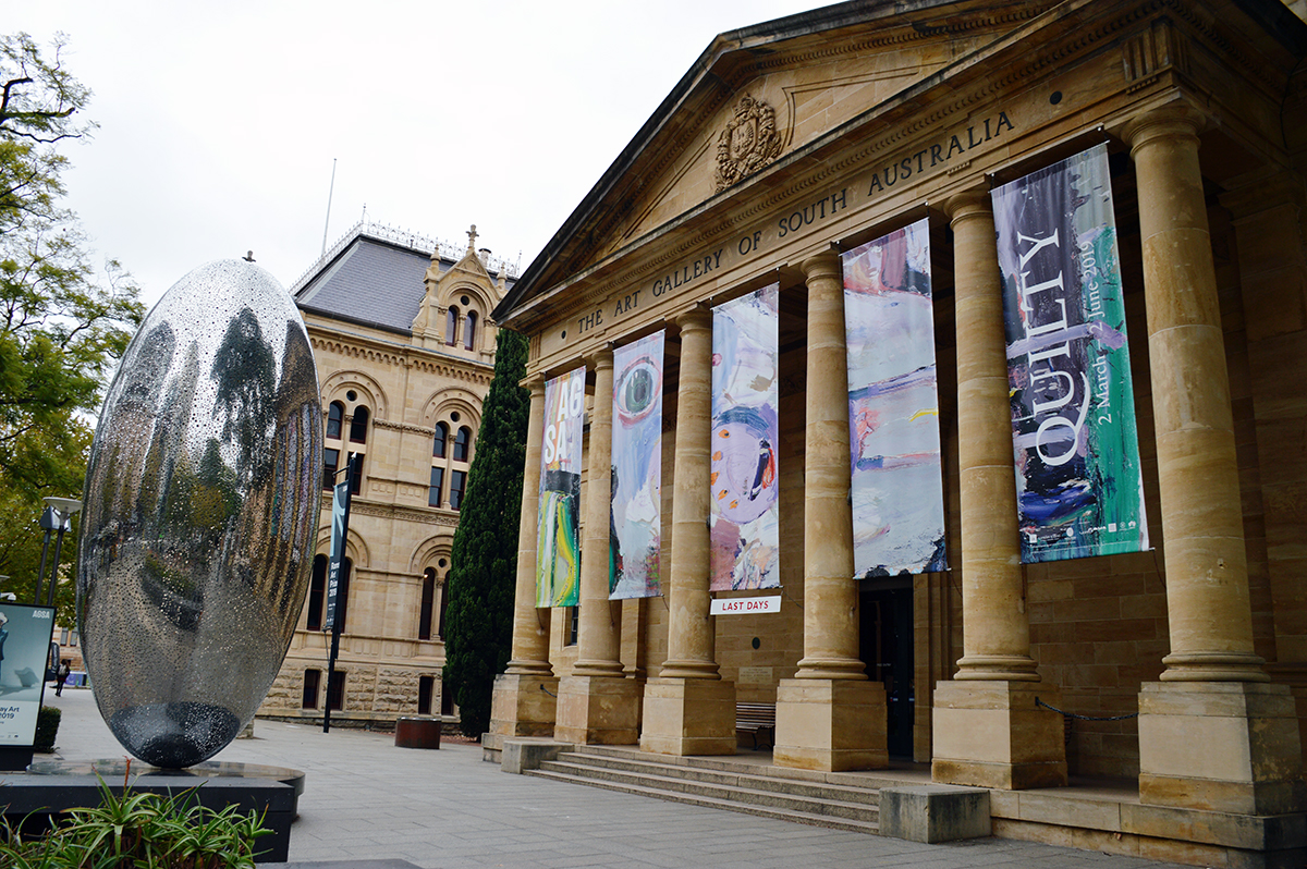 Art Gallery of South Australia Double-Barrelled Travel