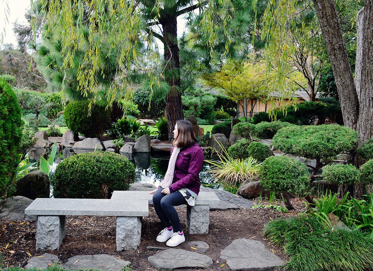 Japanese garden Double-Barrelled Travel