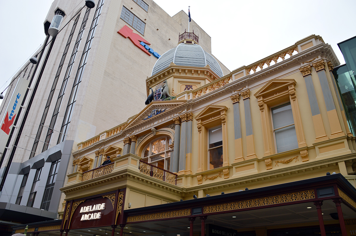 Rundle Mall Double-Barrelled Travel