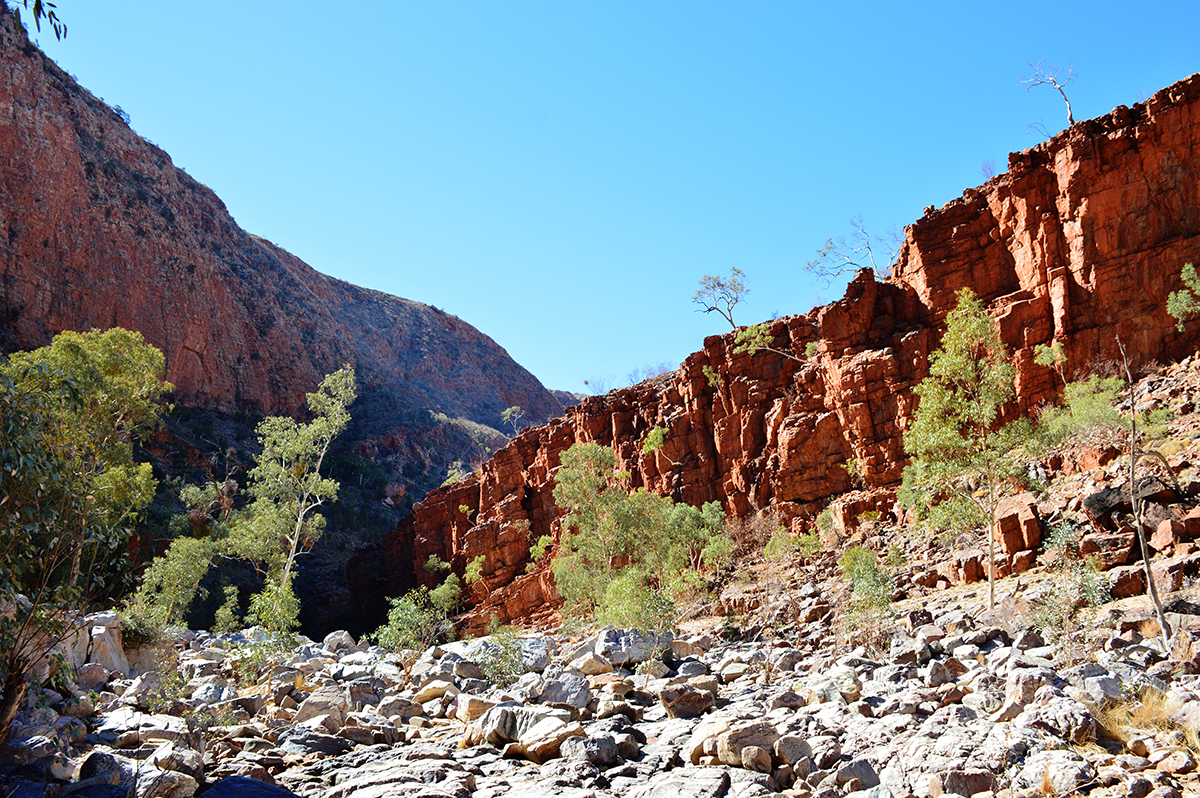 Inside Ormiston Gorge 2 Double-Barrelled Travel