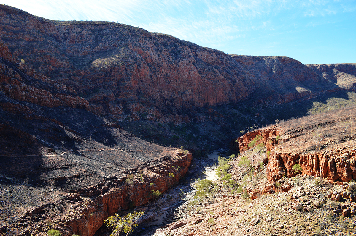 Ormiston Gorge Double-Barrelled Travel