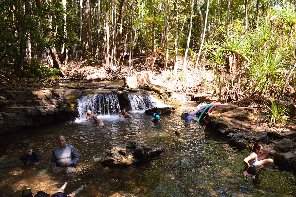 Berry Springs Darwin Double-Barrelled Travel