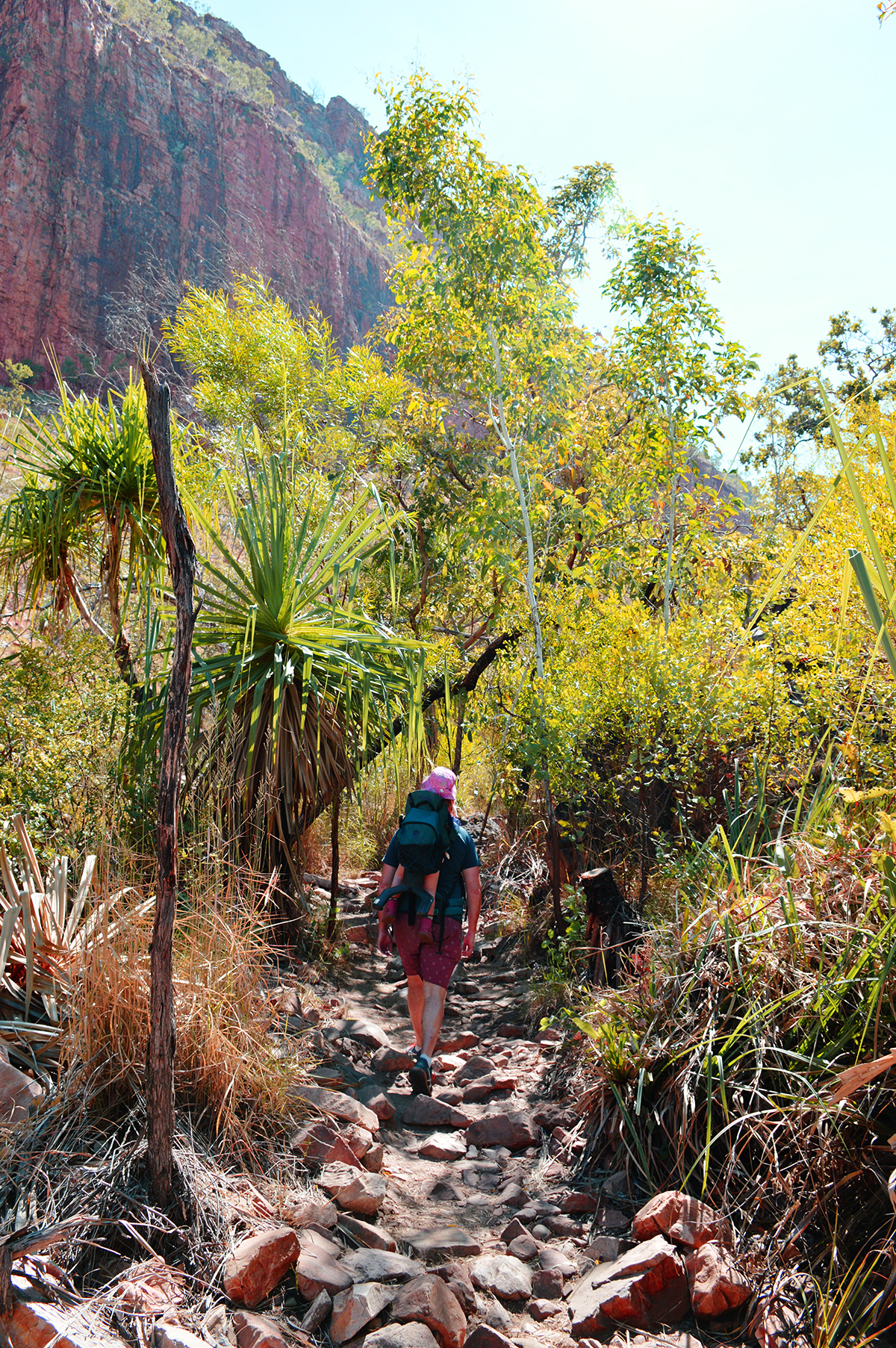 El Questro Emma Gorge hike Double-Barrelled Travel