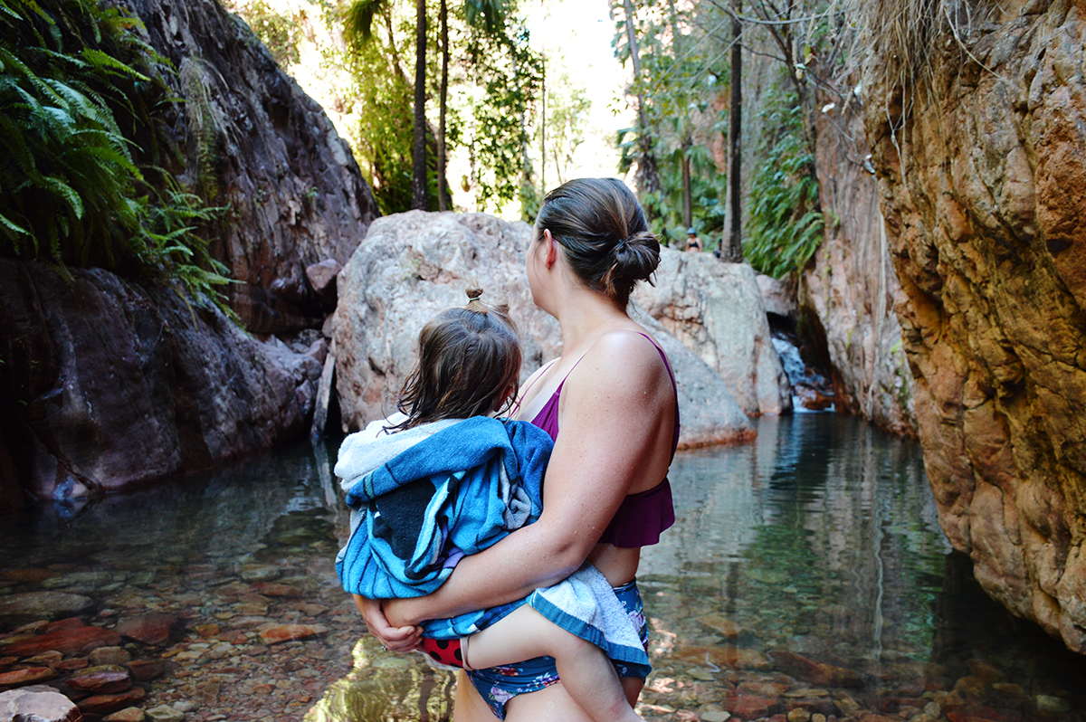 El Questro Gorge toddler Double-Barrelled Travel