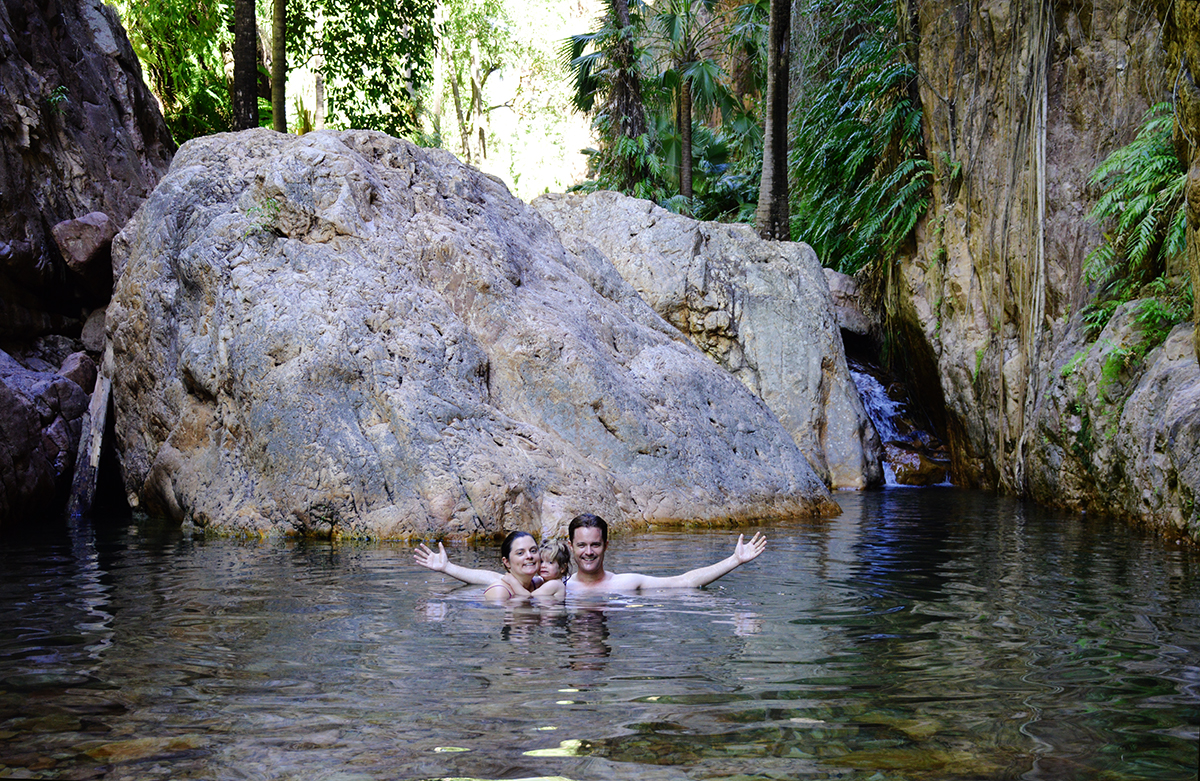 El Questro Gorge waterhole Double-Barrelled Travel