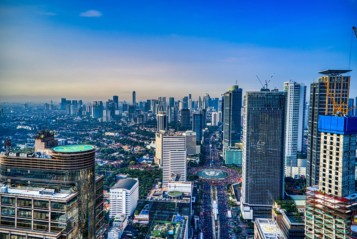 Jakarta City Double-Barrelled Travel