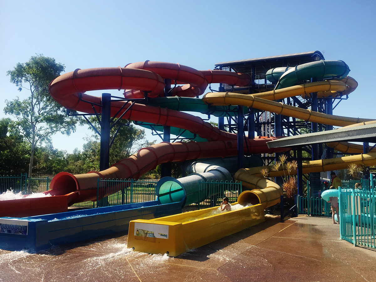 Leanyer Waterpark Darwin Double-Barrelled Travel