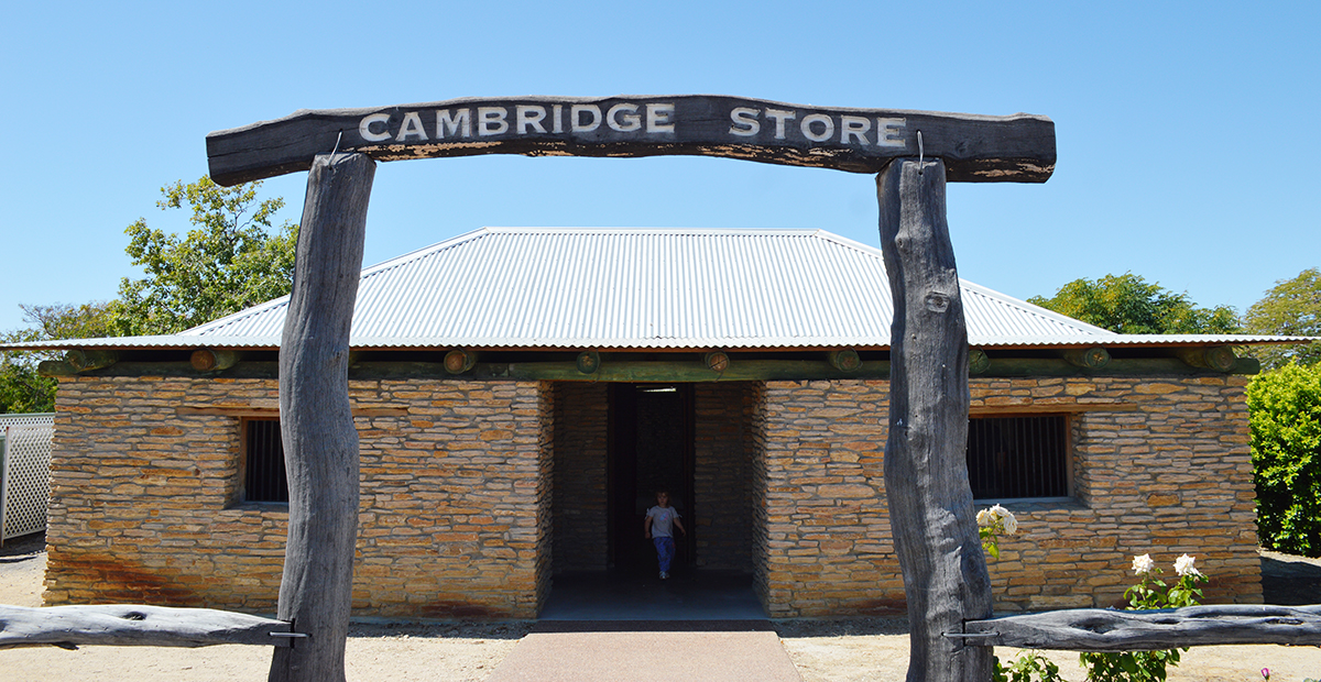 Cambridge Store Richmond Double-Barrelled Travel