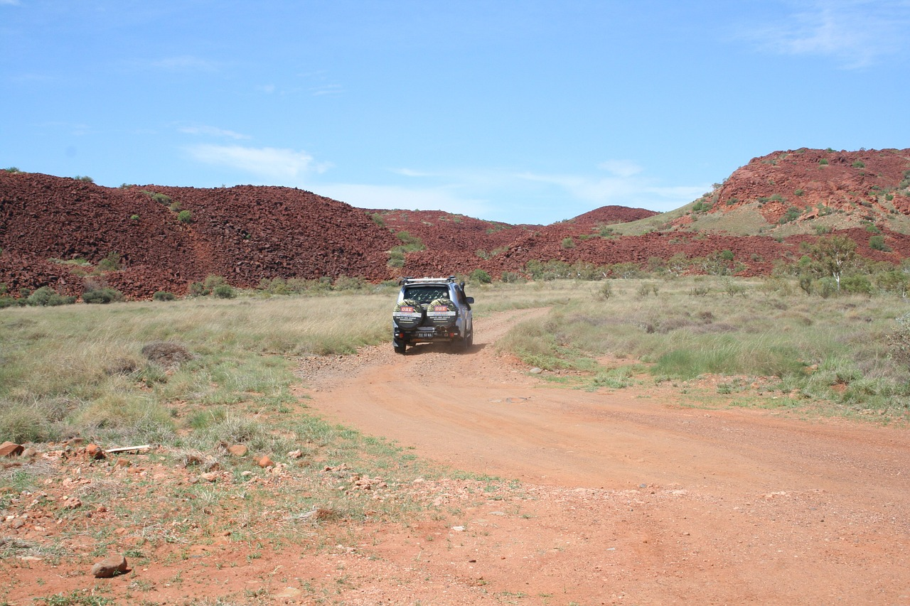 Exploring the outback