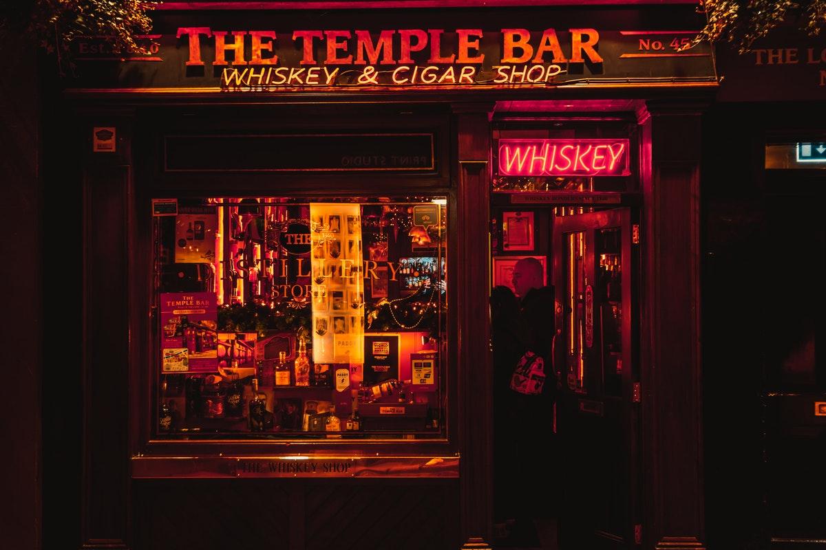 Japanese drinking bar